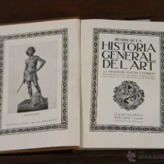 Libros antiguos: 6229 - RESUM DE LA HISTORIA GENERAL DEL'ART. 2 VOLUM. FOLCH I TORRES. EDIT. DAVID. S/F.. Lote 49348114