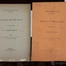 Libros antiguos: 6137 - ASOCIACIÓN DE ARQUITECTOS DE CATALUÑA.(VER DESCRIPCCIÓN). 1884/1886.. Lote 49222877