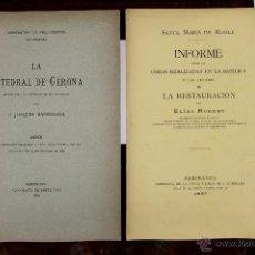 Libros antiguos: 6138 - ASOCIACIÓN DE ARQUITECTOS DE CATALUÑA. ( VER DESCRIPCCIÓN ). 1887/1889.. Lote 49223290