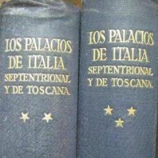 Libros antiguos: LOS PALACIOS DE ITALIA TOMOS 2 Y 3 EDITORIAL CANOSA 1901. Lote 55207095