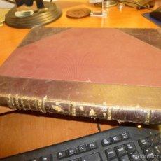 Libros antiguos: WASMUTHS MONATSHEFTE FUR BAUKUNST, REVISTA DE ARQUITECTURA ALEMANA, 1 TOMO DE 1920/21. Lote 55220553