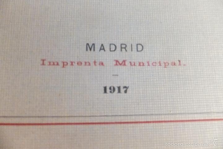 Libros antiguos: Emilio Alba Proyecto Urbanización Ensanche Villa y Corte ,con plano. Ayuntamiento Madrid 1917 - Foto 3 - 56334969