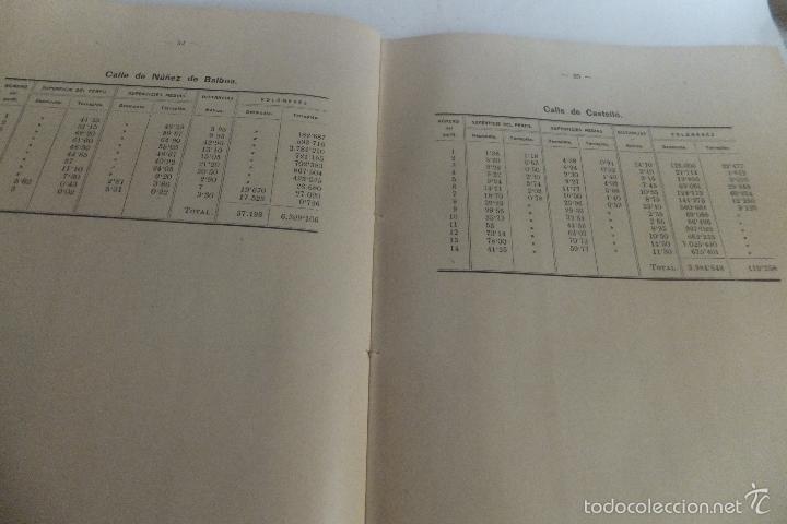 Libros antiguos: Emilio Alba Proyecto Urbanización Ensanche Villa y Corte ,con plano. Ayuntamiento Madrid 1917 - Foto 8 - 56334969
