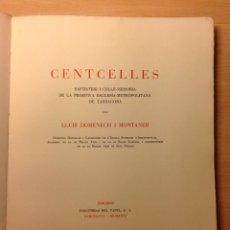 Centcelles, Constantí (Tarragona) Lluis Domenech i Montaner. 1931.