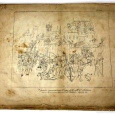 Libros antiguos: GR-112. COURS D'ANTIQUITÉS DE M. DE CAUMONT. LITOGRAFÍAS DE ARQUITECTURA. FRANCIA. XIX.. Lote 57208770