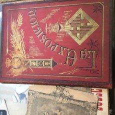 Libros antiguos: ORGANO OFICIAL DE LA EXPOSICION UNIVERSAL DE BARCELONA. Lote 57702968