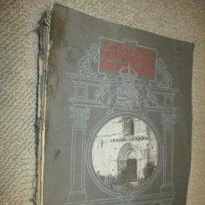 Libros antiguos: CATÁLOGO MONUMENTAL DE ESPAÑA. PROVINCIA DE ÁLAVA, POR CRISTÓBAL DE CASTRO, 1915. Lote 57945752