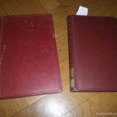 Libros antiguos: ARQUITECTURA NAVAL TEORÍA DEL NAVÍO POR EMIGDIO IGLESIAS TOMOS I Y II ED. CALPE (1921-1922). Lote 57985514