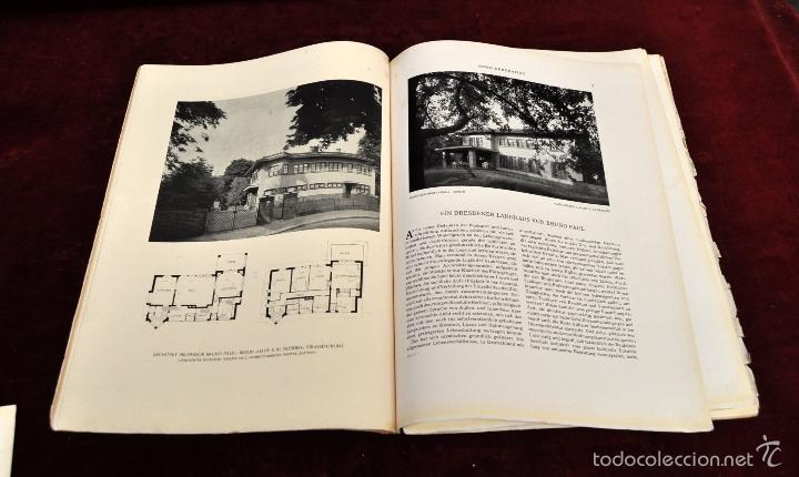 Libros antiguos: LOTE DE 19 REVISTAS ALEMANAS DE DECORACION Y INTERIORISMO. AÑOS 30 Y 40. INNEN DEKORATION - Foto 7 - 58390210