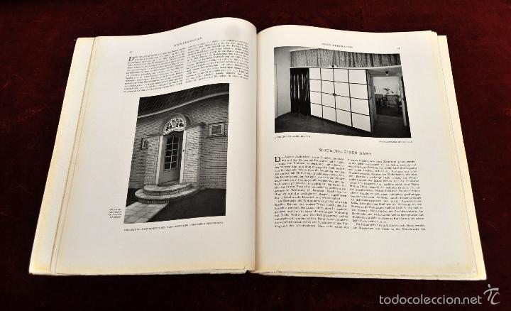 Libros antiguos: LOTE DE 19 REVISTAS ALEMANAS DE DECORACION Y INTERIORISMO. AÑOS 30 Y 40. INNEN DEKORATION - Foto 8 - 58390210