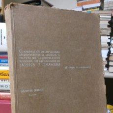 Libros antiguos: ARQUITECTURA BELGICA - HOLANDA - ANCLAS DE HIERRO FORJADO - MUY ILUSTRADO. Lote 60363451