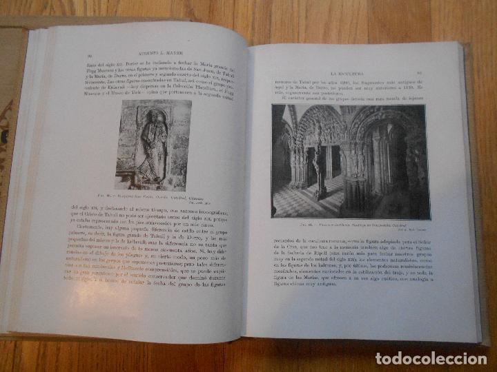 Libros antiguos: LOTE 2 LIBROS, AUGUSTO L,MAYER, EL ESTILO ROMANICO EN ESPAÑA Y EL ESTILO GOTICO EN ESPAÑA 1 EDICION - Foto 2 - 62536752
