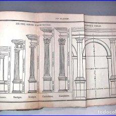 Libros antiguos: AÑO 1835: TRATADO DE TOPOGRAFÍA Y MEDICIÓN, CON LAS TABLAS DE CONVERSIÓN DE MEDIDAS.. Lote 64312207