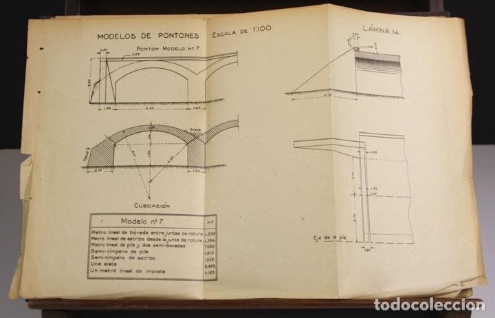 Libros antiguos: 8170 - PUENTES DE FÁBRICA Y HORMIGÓN ARMADO. TOMOS I Y II(VER DESCRIP). RIBERA. 1925/30. - Foto 5 - 66440222