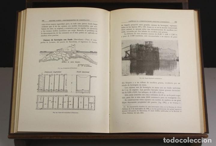 Libros antiguos: 8170 - PUENTES DE FÁBRICA Y HORMIGÓN ARMADO. TOMOS I Y II(VER DESCRIP). RIBERA. 1925/30. - Foto 7 - 66440222