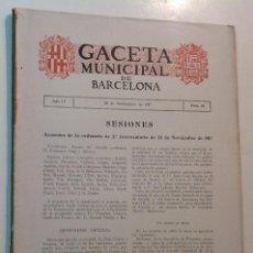 Libros antiguos: 1917 * PROYECTO AGUAS DE MONTCADA MONCADA A BARCELONA * 123 PAG * 79 FOTOS * 32 CM. Lote 70197797