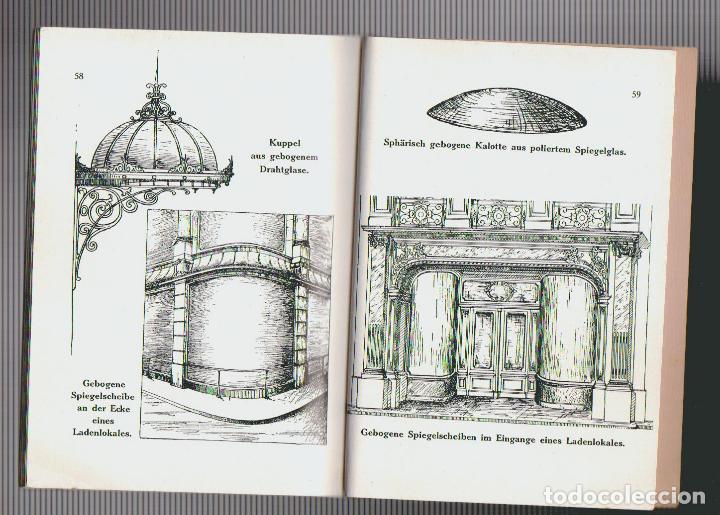 Libros antiguos: Catalogue des verres coules ( vidrios impresos).Saint Gobain, Chauny & Cirey.Köln am Rhein.Años 20 - Foto 6 - 72454935