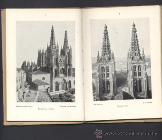 Libros antiguos: EL ARTE EN ESPAÑA. CATEDRAL DE BURGOS. - Foto 2 - 72763367