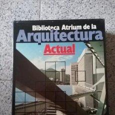 Libros antiguos: BIBLIOTECA ATRIUM DE LA ARQUITECTURA ACTUAL. 5 TOMOS.. Lote 72881631