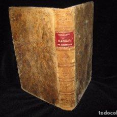 Libros antiguos: MANUAL DEL CONSTRUCTOR , D. JOSÉ A. REBOLLEDO AÑO 1893. Lote 73448107