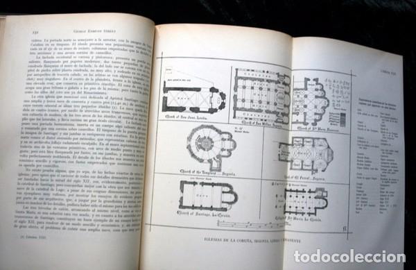 Libros antiguos: LA ARQUITECTURA GOTICA EN ESPAÑA - STREET - con GRABADOS - Foto 4 - 73716475