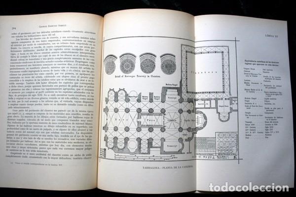 Libros antiguos: LA ARQUITECTURA GOTICA EN ESPAÑA - STREET - con GRABADOS - Foto 5 - 73716475