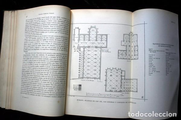 Libros antiguos: LA ARQUITECTURA GOTICA EN ESPAÑA - STREET - con GRABADOS - Foto 8 - 73716475