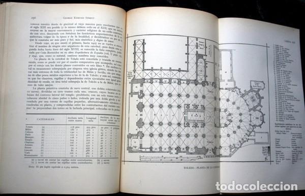 Libros antiguos: LA ARQUITECTURA GOTICA EN ESPAÑA - STREET - con GRABADOS - Foto 11 - 73716475