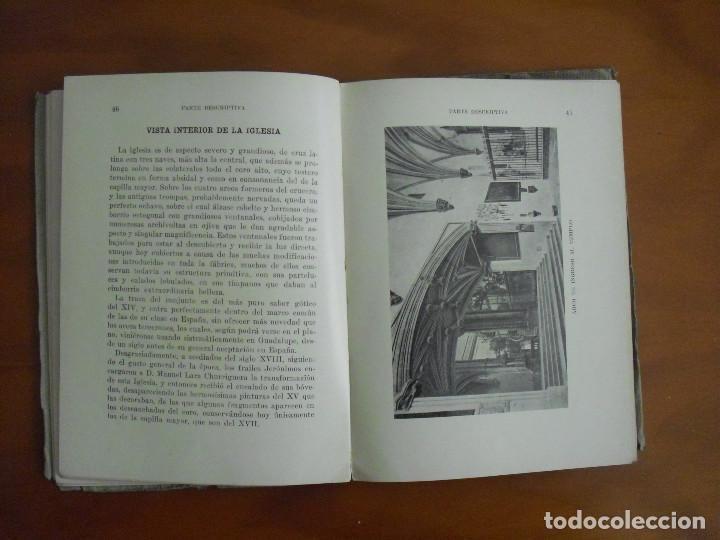 Libros antiguos: L-022 GUIA ILUSTRADA DEL MONASTERIO DE NTRA. SRA. GUADALUPE 1927 THOMAS .BARCELONA - Foto 4 - 75492967