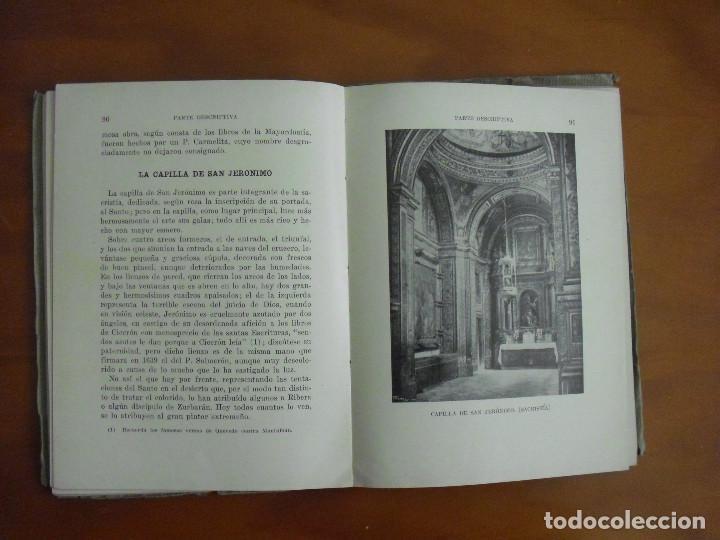 Libros antiguos: L-022 GUIA ILUSTRADA DEL MONASTERIO DE NTRA. SRA. GUADALUPE 1927 THOMAS .BARCELONA - Foto 5 - 75492967