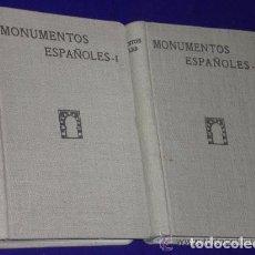 Libros antiguos: MONUMENTOS ESPAÑOLES.CATALOGO DE LOS DECLARADOS NACIONALES, ARQUITECTONICO E HISTORICO-ARTISTICOS . Lote 75655771