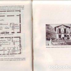 Libros antiguos: ANUARIO DE EUSKO-FOLKLORE. 1926. TOMO VI- ESTABLECIMIENTOS HUMANOS Y CASA RURAL (II). Lote 77733242