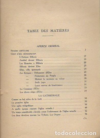 Libros antiguos: Elne sa cathédrale, son cloitre / Chanoine M. Jampy. Perpignan : LIndependant, 1937. Elna - Foto 3 - 78314821