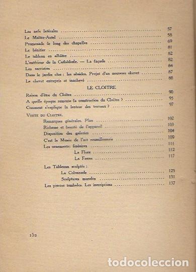 Libros antiguos: Elne sa cathédrale, son cloitre / Chanoine M. Jampy. Perpignan : LIndependant, 1937. Elna - Foto 4 - 78314821