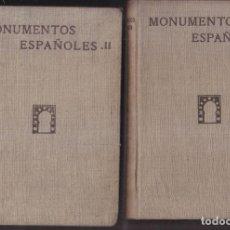 Libros antiguos: CENTRO DE ESTUDIOS HISTÓRICOS. FICHERO DE ARTE ANTIGUO. MONUMENTOS ESPAÑOLES. CATÁLOGO. MADRID, 1932. Lote 169724629