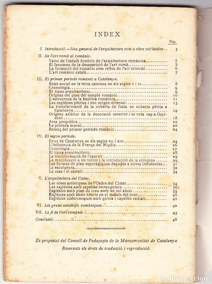 Libros antiguos: MINERVA VOL XXXIII - L'ARQUITECTURA ROMANICA A CATALUNYA - J PUIG CADAFALCH - 1920 - Foto 3 - 78389153