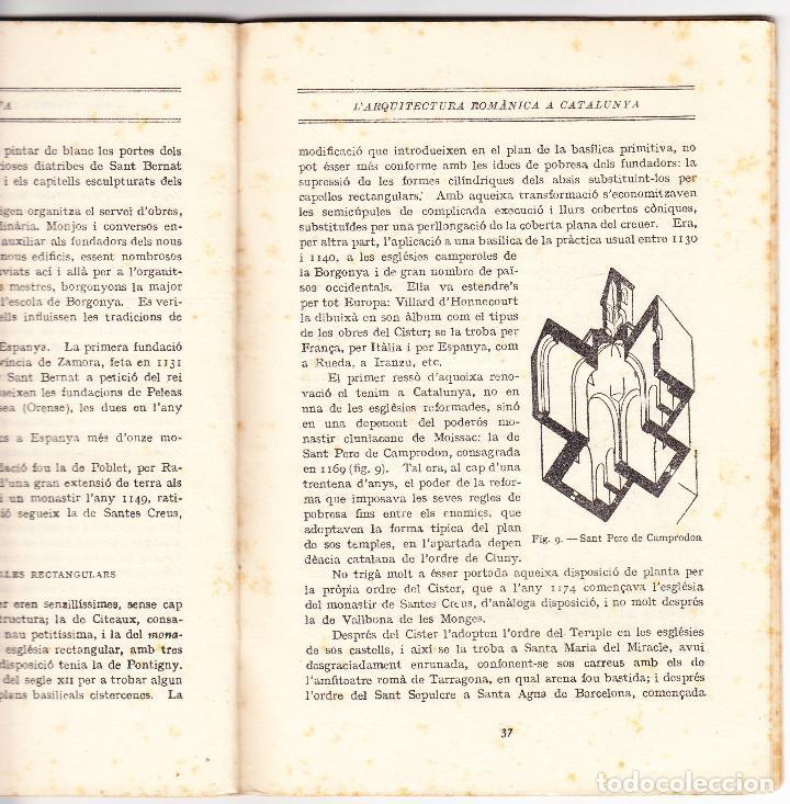 Libros antiguos: MINERVA VOL XXXIII - LARQUITECTURA ROMANICA A CATALUNYA - J PUIG CADAFALCH - 1920 - Foto 4 - 78389153