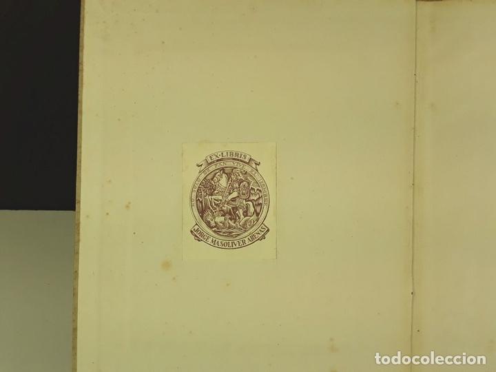 Libros antiguos: AGUSTÍN DURAN Y SANPERE. IDEA DE LA SUCESIVA TRANSFORMACIÓN DE BARCELONA (VER DESCRIPCIÓN). S/F. - Foto 3 - 79764729