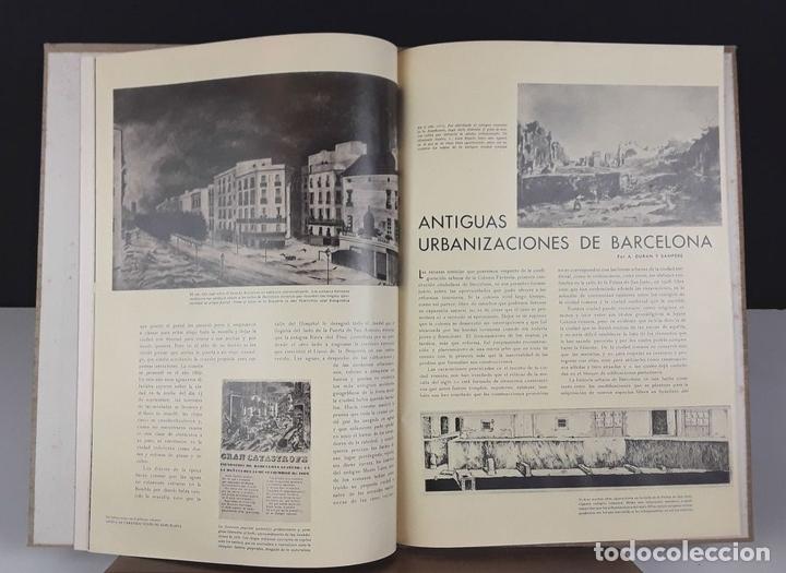 Libros antiguos: AGUSTÍN DURAN Y SANPERE. IDEA DE LA SUCESIVA TRANSFORMACIÓN DE BARCELONA (VER DESCRIPCIÓN). S/F. - Foto 4 - 79764729