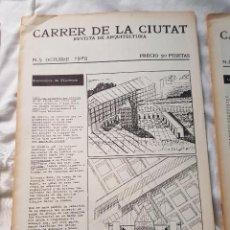 Libros antiguos: CARRER DE LA CIUTAT - REVISTA DE ARQUITECTURA - NUMERO 5 (OCTUBRE 1978). Lote 83231500