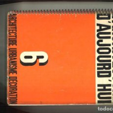 Libros antiguos: L'ARCHITECTURE D'AUJOURD'HUI. JUILLET 6 AOUT 1933. . Lote 86033720