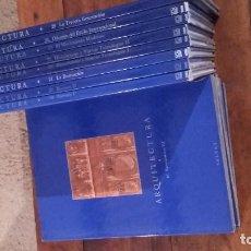 Libros antiguos: EL GRAN ARTE EN LA ARQUITECTURA - TOMOS SUELTOS - ENVÍO GRATIS. Lote 86743784