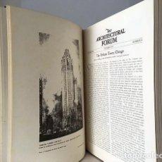 Libros antiguos: THE ARCHITECTURAL FORUM. (AÑO 1925 JULIO-DICIEMBRE) REVISTA DE ARQUITECTURA NUMEROSAS ILUSTRACIONES. Lote 86889216