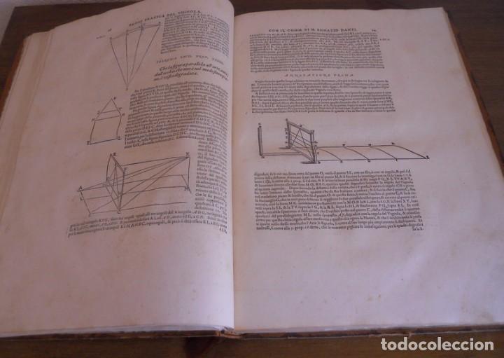 Libros antiguos: BAROZZI DA VIGNOLA: LE DUE REGOLE DELLA PROSPETTIVA..ROMA, 1583 1ª EDIC. ARQUITECTURA RENACIMIENTO - Foto 10 - 87617588