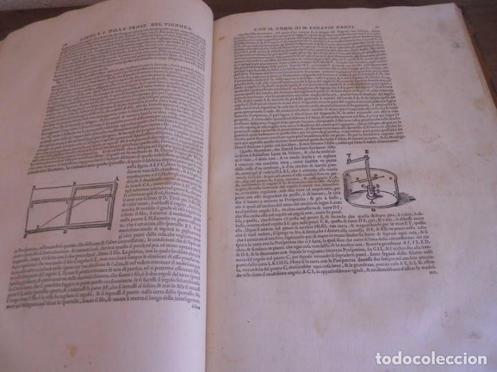 Libros antiguos: BAROZZI DA VIGNOLA: LE DUE REGOLE DELLA PROSPETTIVA..ROMA, 1583 1ª EDIC. ARQUITECTURA RENACIMIENTO - Foto 13 - 87617588