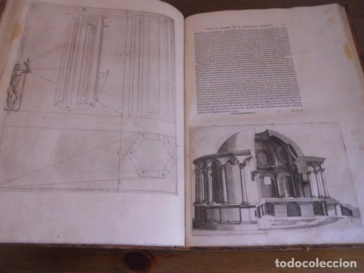 Libros antiguos: BAROZZI DA VIGNOLA: LE DUE REGOLE DELLA PROSPETTIVA..ROMA, 1583 1ª EDIC. ARQUITECTURA RENACIMIENTO - Foto 15 - 87617588