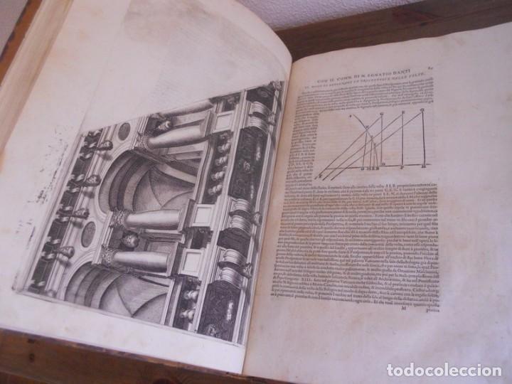 Libros antiguos: BAROZZI DA VIGNOLA: LE DUE REGOLE DELLA PROSPETTIVA..ROMA, 1583 1ª EDIC. ARQUITECTURA RENACIMIENTO - Foto 17 - 87617588