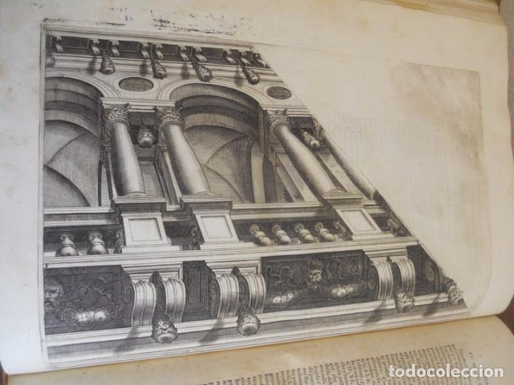 Libros antiguos: BAROZZI DA VIGNOLA: LE DUE REGOLE DELLA PROSPETTIVA..ROMA, 1583 1ª EDIC. ARQUITECTURA RENACIMIENTO - Foto 18 - 87617588