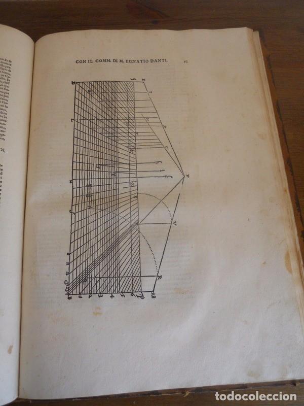 Libros antiguos: BAROZZI DA VIGNOLA: LE DUE REGOLE DELLA PROSPETTIVA..ROMA, 1583 1ª EDIC. ARQUITECTURA RENACIMIENTO - Foto 19 - 87617588