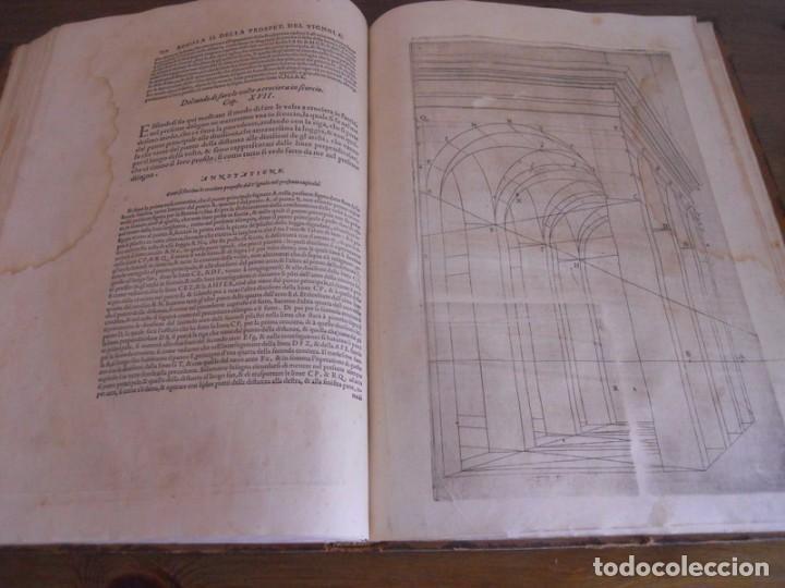 Libros antiguos: BAROZZI DA VIGNOLA: LE DUE REGOLE DELLA PROSPETTIVA..ROMA, 1583 1ª EDIC. ARQUITECTURA RENACIMIENTO - Foto 22 - 87617588
